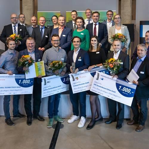 So sehen Sieger aus! Innovationen Made in Anhalt-Bitterfeld!!! © EWG Anhalt-Bitterfeld GmbH (Urheber Heiko Rebsch)