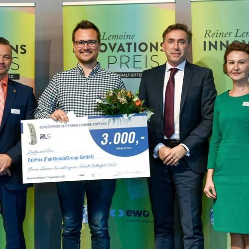 Das Fairfox-System hat die FairGoodsGroup GmbH zu Siegern gemacht. © EWG Anhalt-Bitterfeld GmbH (Urheber Heiko Rebsch)